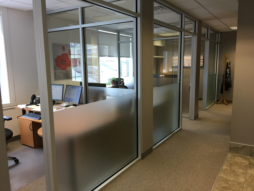 Glass office - Envirofilms Window Film Ottawa