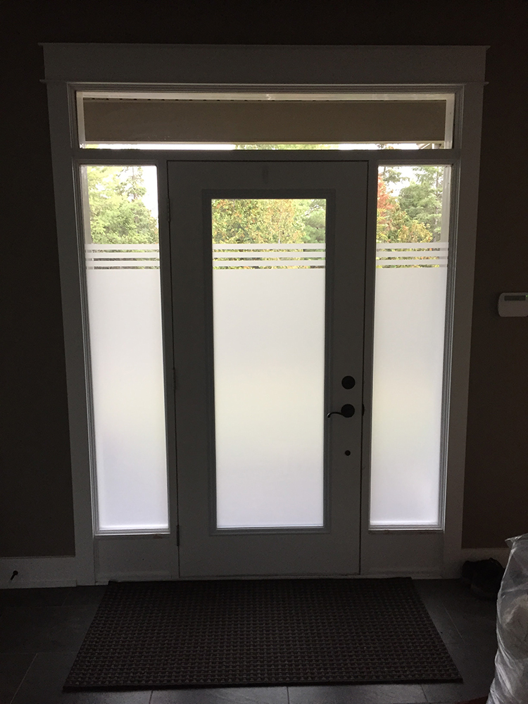 Interior home entrance- Envirofilms Window Film Ottawa